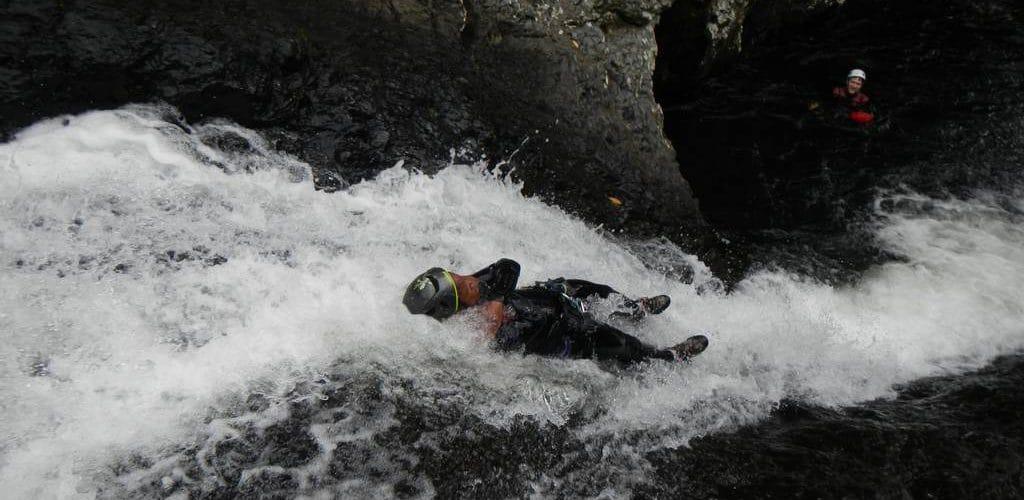 Toboggan du canyon de Sainte Suzanne integral ou Bassin Boeuf